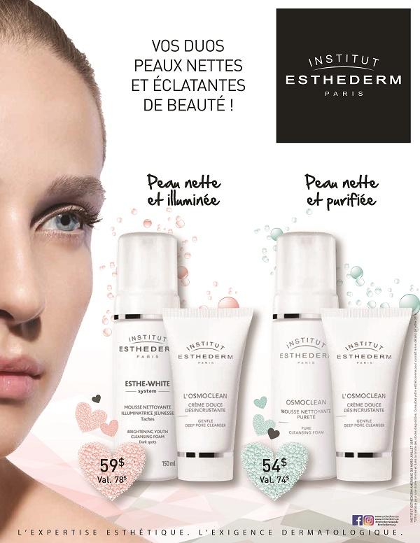 coffrets peau nette et purifiée et coffrets peau nette et illuminée en promotion